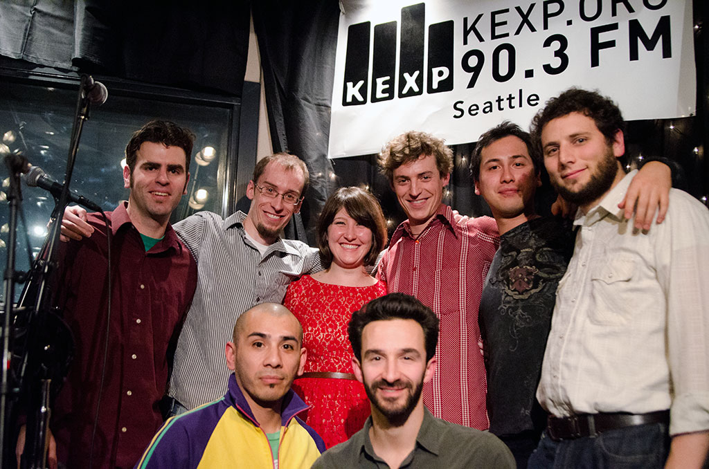 Cordaviva Live at KEXP Band Photo